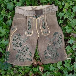 Original Trachtenhans - österreichische Lederhose: Sämische Hirschlederhose