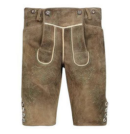 Original Trachtenhans - Austrian leather pants: Sämina goat leather Modell:Mondsee in a vintage look made to measure