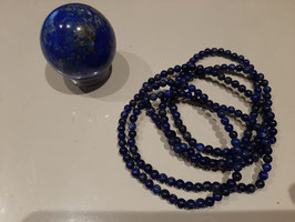 Bracelet en perles de Lapis Lazuli 4 mm