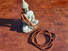 Bracelet en perles de Jaspe rouge 4 mm