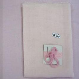 抱き人形(大)用エプロンドレス(ピンク)キット