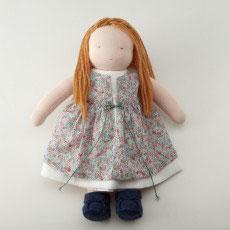 着せ替え人形(中) 女の子茶髪キット くつ付き
