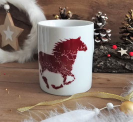 "Mug ""Cayuse Spirit"" - Red n02"