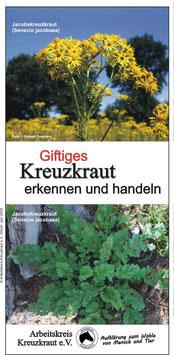 """Flyer (10 Seiten) """"Giftiges Kreuzkraut erkennen und handeln"""""""