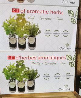 Kit d'herbes arômatiques rouge