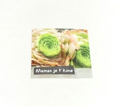 "Carte message ""Maman je t'aime"""