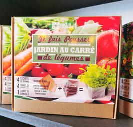 """""""Je fais pousser mon jardin au carré de légumes"""""""