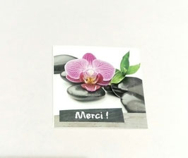 "Carte message n°1 ""Merci !"""
