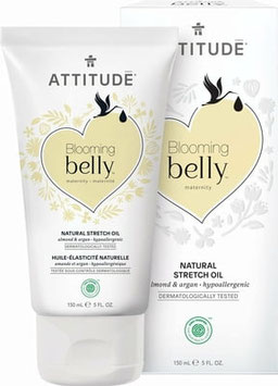 'Attitude Blooming Belly – Striemen olie  (Amandel en argan)'