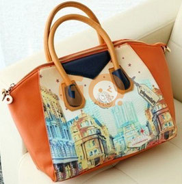 Graffiti retro handbag