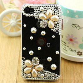 Pearl&flowers phone cases