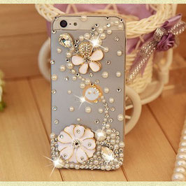 Pearl with flowers Phone cases