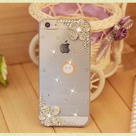 Diamond flower phone cases