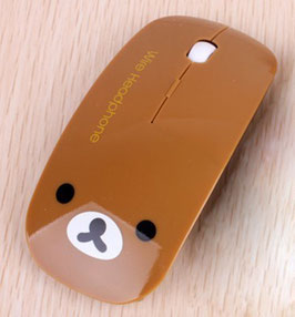Wireless mouse bear