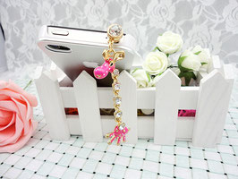 phone chain diamond giraffes
