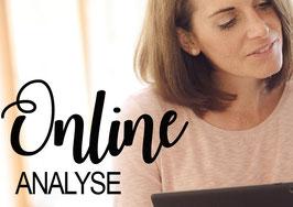 Online-Ernährungsanalyse