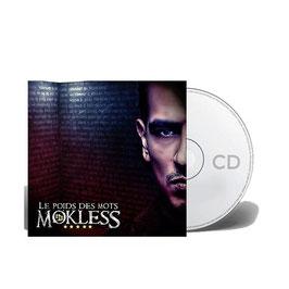 """ALBUM CD """"MOKLESS"""" - LE POIDS DES MOTS"""