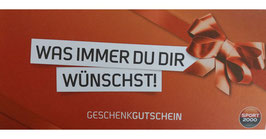 Gutschein Sporthaus Husum in Höhe von 10,00 €, 25,00 € und 50,00 €