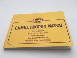 Camel - Trophy Superchrono Bedienungsanleitung / Bestellnr. 2017026