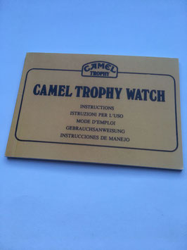 Camel - Trophy  Masterpiece Bedienungsanleitung / Bestellnr. 2017028