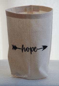 """Lichthülle / Vasenhusse """"Hope"""""""