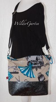 """Tasche """"Miriam"""" blaues Design"""