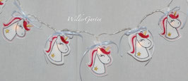 "Lichterkette ""Einhorn 10 LED´S"""