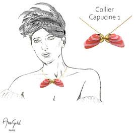 Collier CAPUCINE 1 (Collection capsule été 2020)