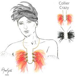 Collier CRAZY