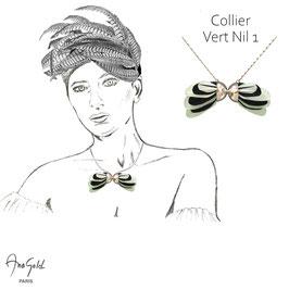 Collier VERT NIL 1 (Collection capsule été 2020)