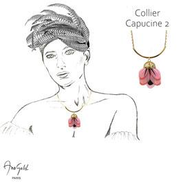 Collier CAPUCINE 2 (Collection capsule été 2020)
