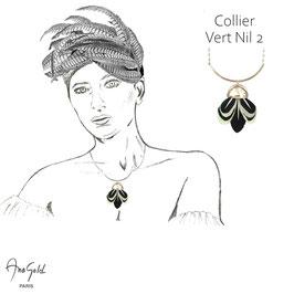 Collier VERT NIL 2 (Collection capsule été 2020)