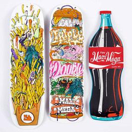 MAXIMEGA X SPIRALE - French Fries / Maxi Mega Cola / Burger double triple - 2021