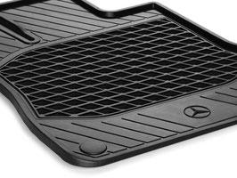 Fußmatten - Allwetter - schwarz  SL R231
