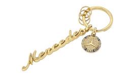 Schlüsselanhänger, Mercedes Classic Schriftzug