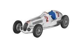 Modellauto W 125 - H. Lang Sieger Großer Preis von Tripolini (1937)
