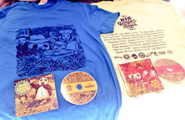 Camiseta + CD BIG ganja Tunes 2