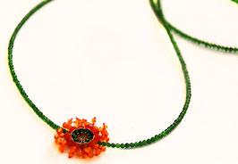 lange Blütenkette