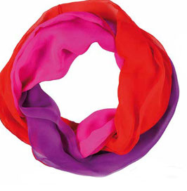 Loop-Schal, feinste Chiffonseide