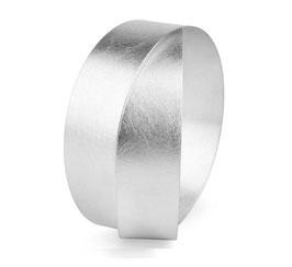 "Armreif ""Circles"" in Silber"