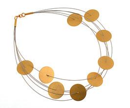 Collier mit runden Kreisen