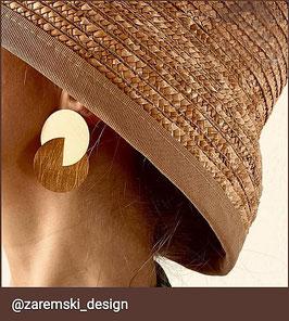 Ohrringe, vergoldet