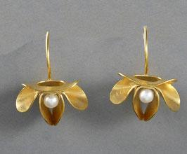 Ohrhänger Blüte Dalia