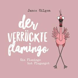 Comic: Der verrückte Flamingo: Ein Flamingo hat Flugangst
