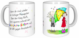 "Becher ""Gute Laune Schirm"""