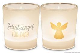 """2er Set Windlichter  """"Schutzengel für Dich """""""