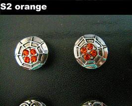 1 Stück Snap Button mit Strass-Steinen, 12 mm, Modell S2
