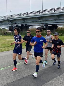 11月14日(日)しらとり練ハーフマラソンチャレンジin荒川・東大島