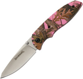 Browning EDC Folder - Pink Camo