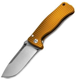 SR2 Aluminium Orange handle satin blade